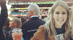 Amy Huberman at U2. Image: Instagram