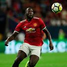 Romelu Lukaku has big ambitions to fulfil with Manchester United. Photo by Matthew Ashton - AMA/Getty Images