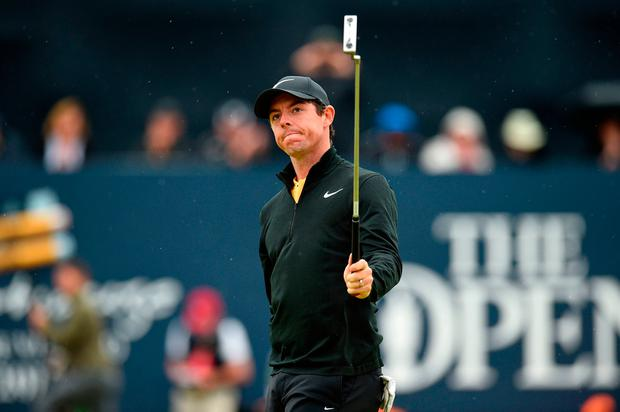 Rory McIlroy believes he has saved his best for the last major of the year. Pic: Getty Images