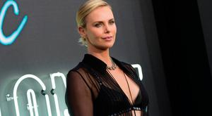 Actress Charlize Theron attends the Premiere of Atomic Blonde at the Ace Theater, on July 24, 2017, in Los Angeles, California. / AFP PHOTO / VALERIE MACONVALERIE MACON/AFP/Getty Images