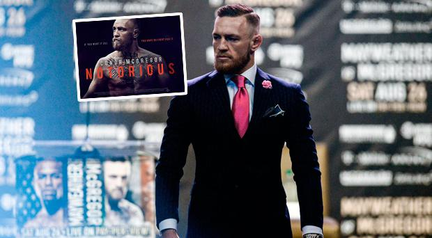 A film chartering the life of Conor McGregor is on the way