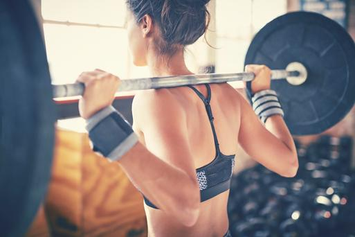 A new study has found that more than 80pc of weightlifters clench their jaw during lifting sessions