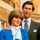 Diana and Prince Charles after announcing their engagement in February 1981. Photo: PA