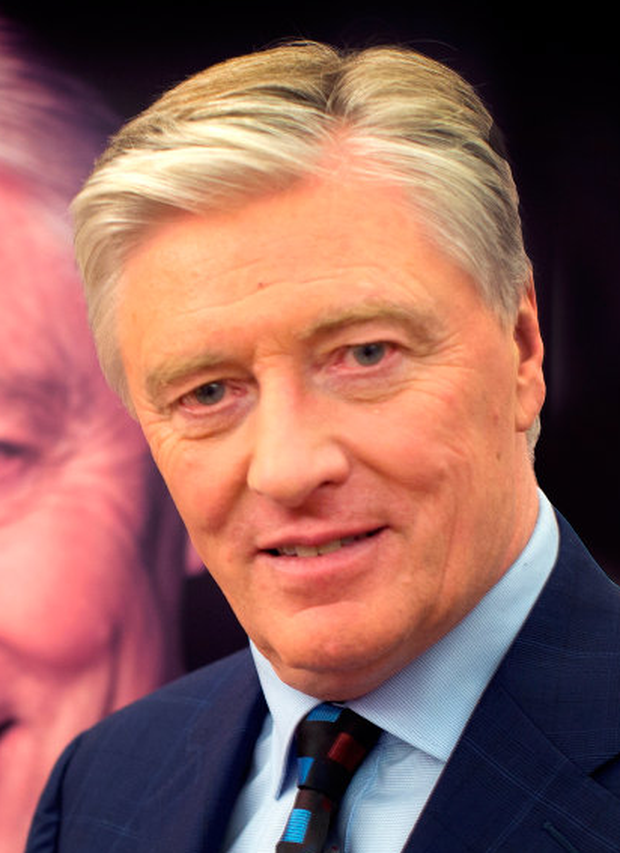 Pat Kenny at the launch of his Tv3 current affairs show. Photo: David Conachy
