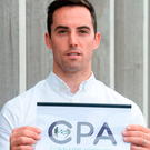 Aaron Kernan, Grassroots Coordinator, Club Players Association, poses for a portrait before a Club Players Association Press Conference, as the CPA unveil a national fixture plan and call out for the GAA to set April aside for club activity only. Campus Conference Centre, National Sports Campus, Abbotstown, in Dublin. Photo: Sportsfile