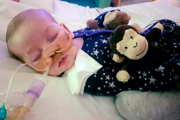 A High Court judge is set to decide where the terminally-ill baby will end his life after the little boy's parents and hospital bosses became embroiled in a new legal fight. Photo: Family handout/PA Wire