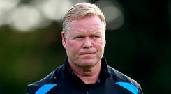Everton manager Ronald Koeman. Photo by Lars Baron/Getty Images