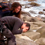 Mel B and Bear Grylls