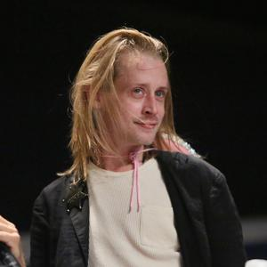 Macaulay Culkin attends The Adult Swim RobotChicken Panel At New York Comic Con 2014 at Jacob Javitz Center on October 10, 2014 in New York City. (Photo by Astrid Stawiarz/WireImage for Turner Networks)