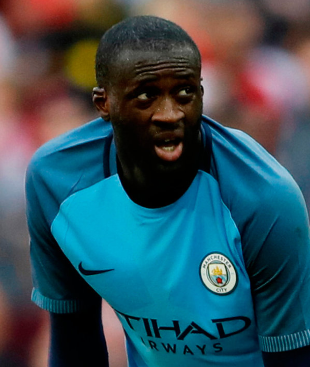 Yaya Toure. Photo: Reuters