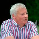 Alan Dowley speaks to Prime Time about the case of his missing father Brendan (inset). Picture: RTE