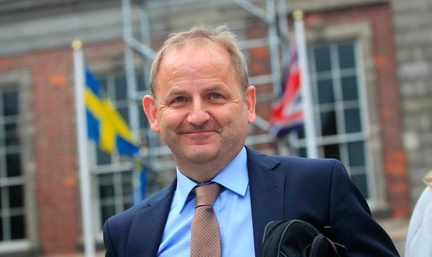 Maurice McCabe at the Disclosures Tribunal Photo: Collins