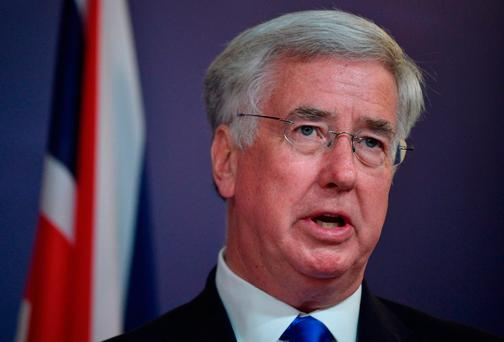 Britain's Defence Minister Michael Fallon. Photo: AFP/Getty Images