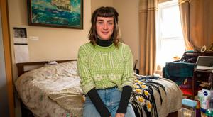 Maeve Devoy is moving back home at the age of 27 while she studies for a masters degree at DCU due to increasing rents and a lack of State support. Photo: Doug O'Connor
