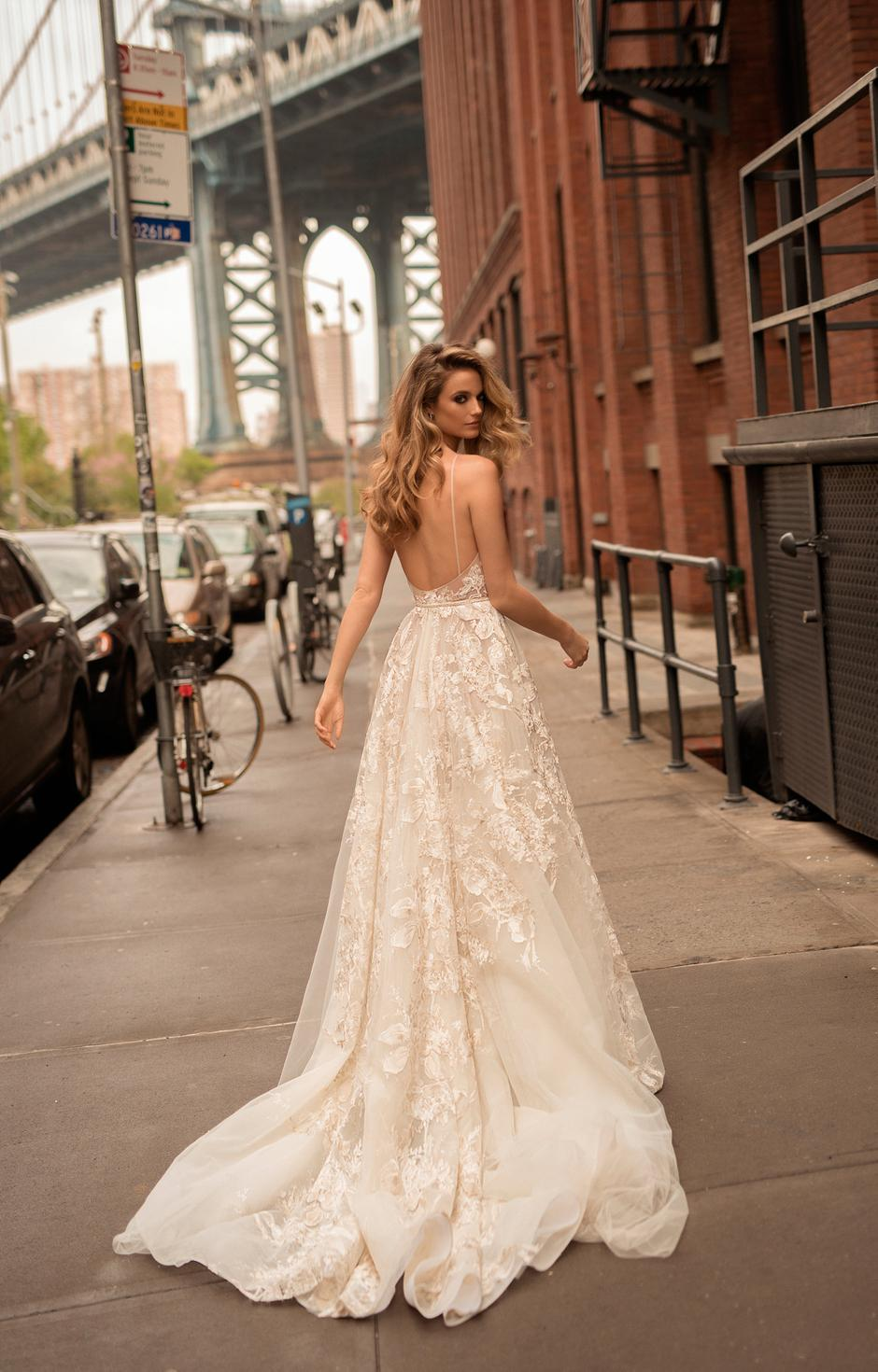 The latest daring bridal collection from Israeli designer BERTA will ...