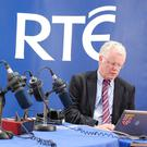Cathal Mac Coille during 'Morning Ireland' 25th anniversary show (2009) PIC: RTÉ