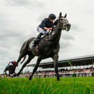 Aidan O'Brien's star filly Winter, here winning the Tattersalls Irish 1,000 Guineas at the Curragh, is all set for a first try at ten furlongs in next week's Nassau Stakes at Glorious Goodwood. Photo by Cody Glenn/Sportsfile