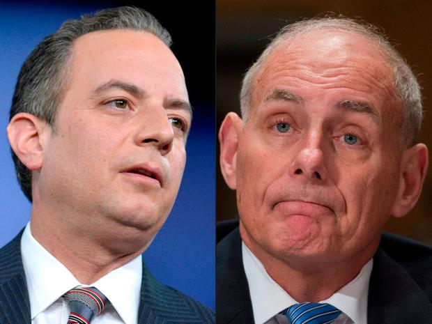 Priebus says Trump sought a different direction