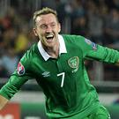 Aiden McGeady has amassed 90 international caps