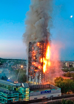 The Grenfell fire tragedy could now see an investigation for corporate manslaughter AFP/Getty