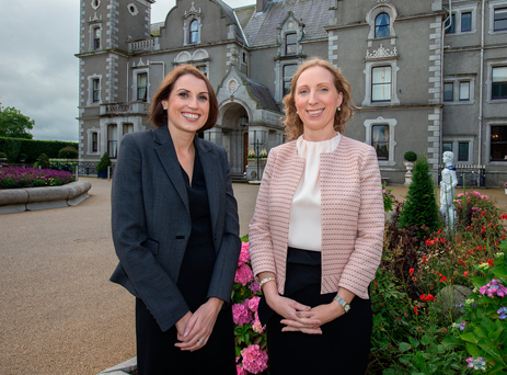 Orla McCabe, director of sales and marketing, and Dee Nix, general manager, at The Killashee House Hotel in Naas, Co Kildare. Photo: Tony Gavin