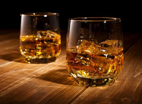 'sales of Irish whiskey are reckoned to be the fastest growing segment in the international spirit market.' (stock image)