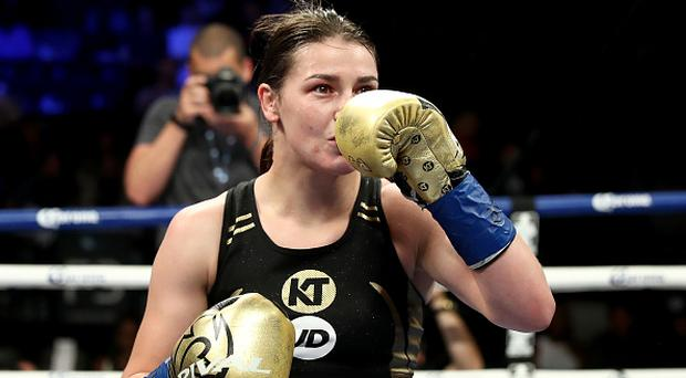 Katie Taylor looking to bigger prizes