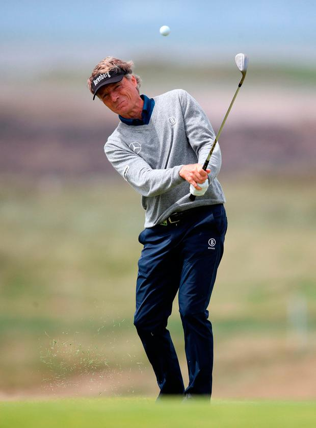 """Langer: """"It's pretty neat to do something that nobody else has done before."""" Photo credit: Nick Potts/PA Wire"""