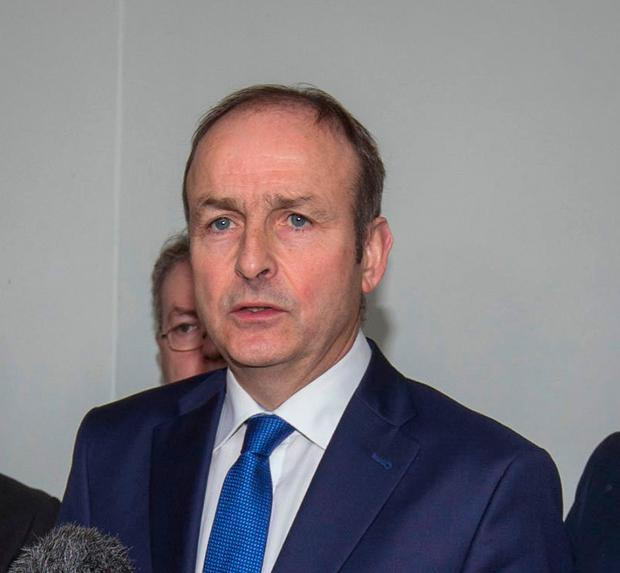 Fianna Fail leader Micheal Martin Picture: Colin O'Riordan