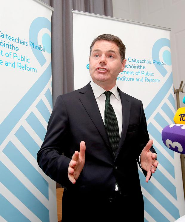 Paschal Donohoe Picture: Tom Burke