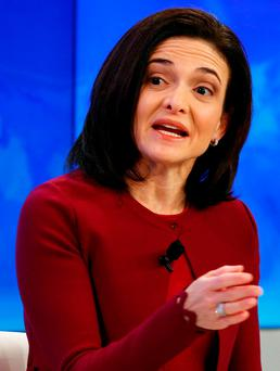 Sheryl Sandberg, Chief Operating Officer of Facebook Picture: REUTERS/Ruben Sprich
