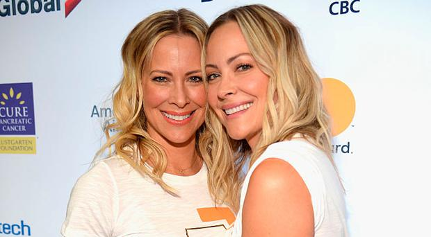 Brittany Daniel (L) and Cynthia Daniel attend Stand Up To Cancer fundraising telecast at the Walt Disney Concert Hall on Friday September 8, 2016. Photo by Kevin Mazur/American Broadcasting Companies Inc via Getty Images