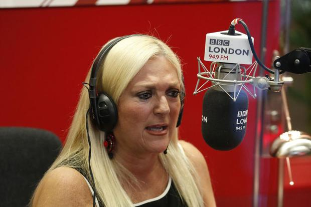 Vanessa Feltz on BBC Radio One. Photo: PA