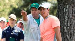 JP Fitzgerald has been Rory McIlroy's caddie since 2008
