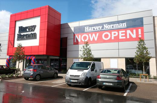 Harvey Normans new store on Airton Rd & Greenhills Rd, Dublin. Photo: Damien Eagers