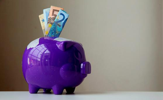 Cash in Irish bank accounts increased by €1bn in June to stand at €99.5bn. Photo: Brian Lawless/PA Wire