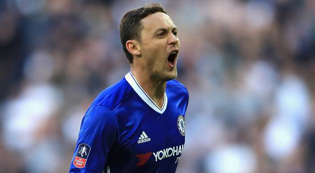 Serbian international Nemanja Matic is set to leave Premier League champions Chelsea for Manchester United. Photo: Getty