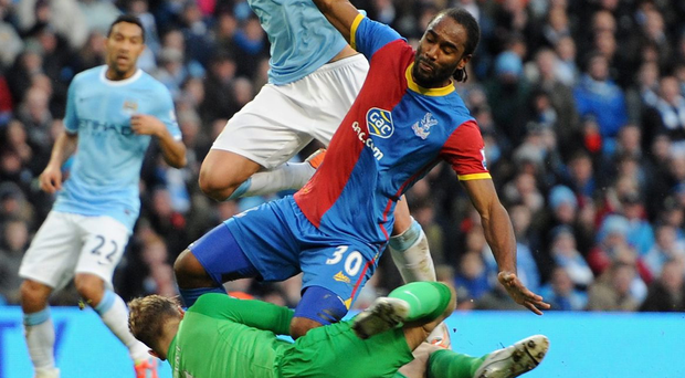 Under the new regulation, the FA will have the power to review video evidence that suggests a player dived to win a penalty or get an opponent sent off. Photo: Getty