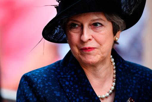 British Prime Minister Theresa May. Photo: Leon Neal/Getty Images