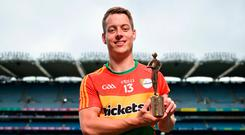 Carlow footballer Paul Broderick. Photo: Sportsfile