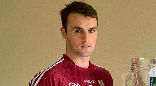 Johnny Coen feels no pressure from within Galway to win an All- Ireland title after near-misses in 2012 and 2015 and that motivation comes from within. Photo: Sportsfile