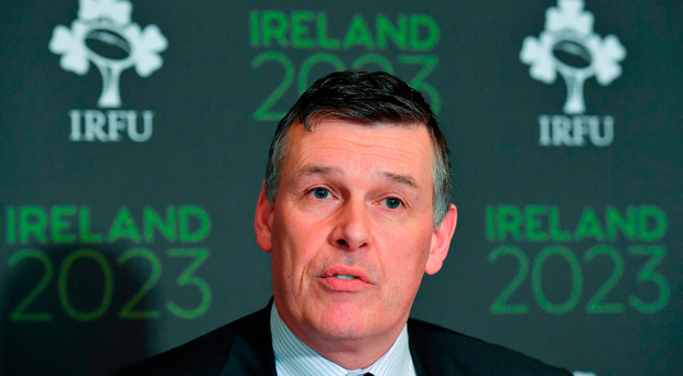 Chief Executive of the IRFU Philip Browne. Photo: Sportsfile