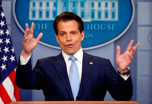 Anthony Scaramucci lost his job as White House communications director. Photo: AP