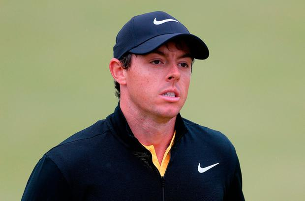 Rory McIlroy. Photo: PA