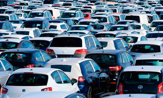 It now appears that 15,000 fewer new cars will be registered this year. Stock picture
