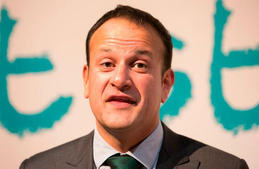 Taoiseach Leo Varadkar is due to attend talks in the North on Friday. Photo: Gareth Chaney