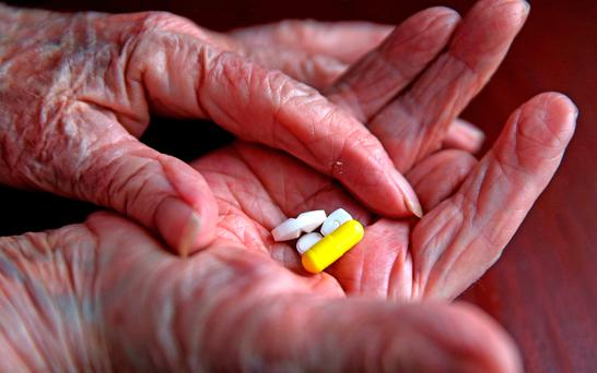 The RCGP called for an end to the 'blanket' prescription of statins for older people, many of whom are at a low risk of heart disease. Stock Image: PA