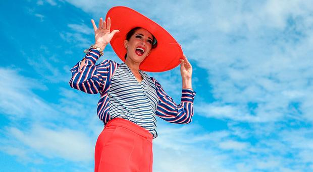 Sophie Small from Galway City during the Galway Races Summer Festival 2017. Photo: Cody Glenn/Sportsfile