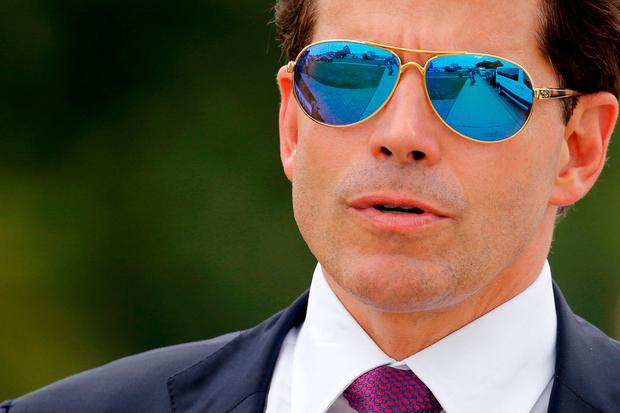 Sacked: Anthony Scaramucci. Photo: REUTERS