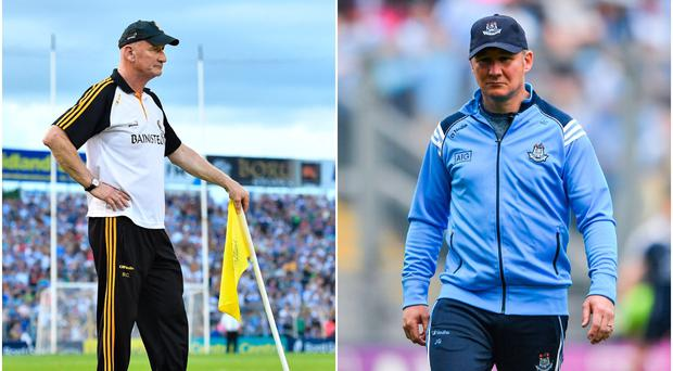 Brian Cody (left) and Jim Gavin (right).